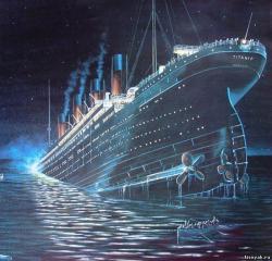 Twitter, Титаник, блог, History Press