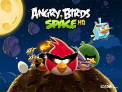 Angry Birds Space, мобильная вервия, скачивания