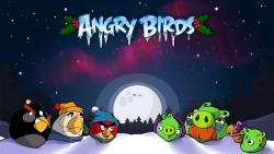 Angry Birds, Рождество, Flurry Analytics, скачивание