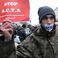 Польша,  протест,  ACTA