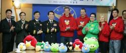 Корея, дети, Angry Birds
