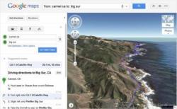 Google Maps, 3D