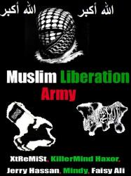 Индия, сайты, взлом, хакеры,  Muslim Liberation Army