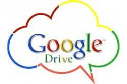 Google, облачный сервис, Google Drive