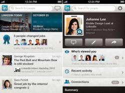 LinkedIn,  приложение,  iPad