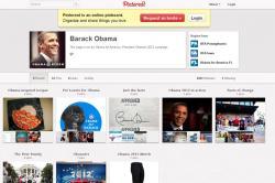 США, Барак Обама, регистрация,  Pinterest