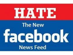 Facebook, критика, новостная лента