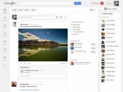 Google+, обновление, интерфейс
