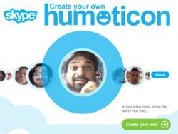 Skype, Humoticon,  Facebook