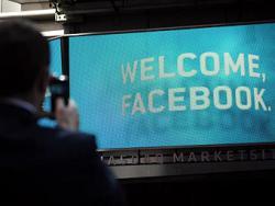 Акции,  Facebook,  индекс Nasdaq-100