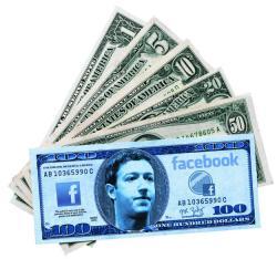 Facebook, выручка, I полугодие 2011 года