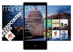 Windows Phone Marketplace, Microsoft, приложения, количество