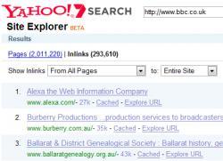 Yahoo Site Explorer, закрытие, Bing Webmaster Tools, Microsoft.