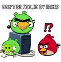 """Angry Birds могут быть опасны для пользователя, считают в """"Лаборатории Касперско"""